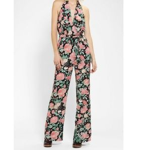Lovers + Friends Oh Darling Floral Jumpsuit XS